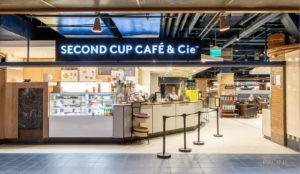 Photographe commercial Montréal Gare Centrale Second Cup Café