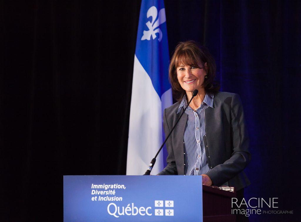 photographe conférence presse événement Kathleen Weil ministère immigration