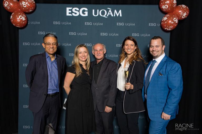 MBA ESG UQAM 40e anniversaire Photographe corporatif